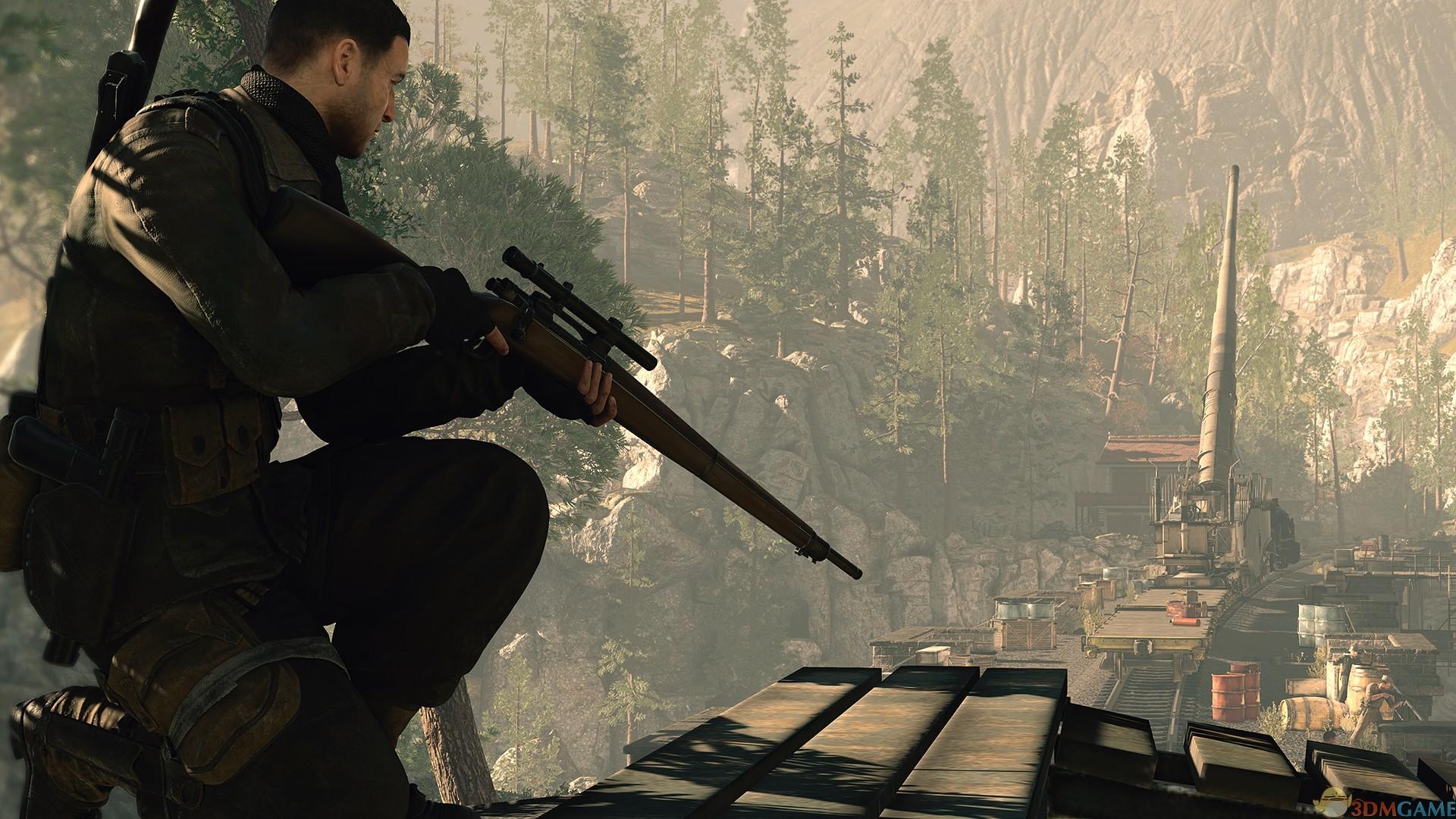 Steam夏促游戏《狙击精英 4》:一人,一枪,一弹,一蛋!
