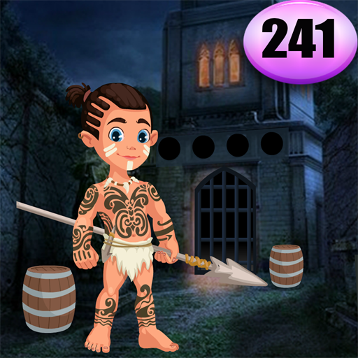 Cute Tribe Boy Rescue Game Best Escape Game 241