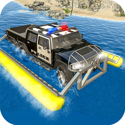 6x6 Police Water Surfer Gangster Chase
