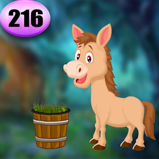 Cute Horse Rescue Game Best Escape Game 216