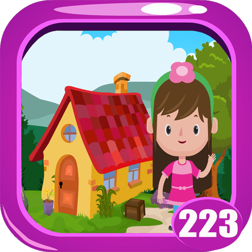 Kidnapped Cute Girl Rescue Game Kavi -  223