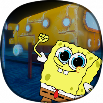 3D Rock Bottom (sponge bob)