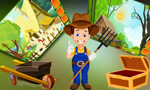 Cute Farmer Rescue Best Escape Game -268