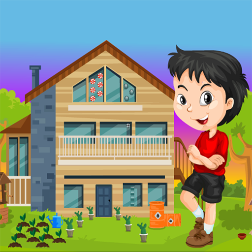 Boy Rescue From Farmer House Kavi Escape Game-296