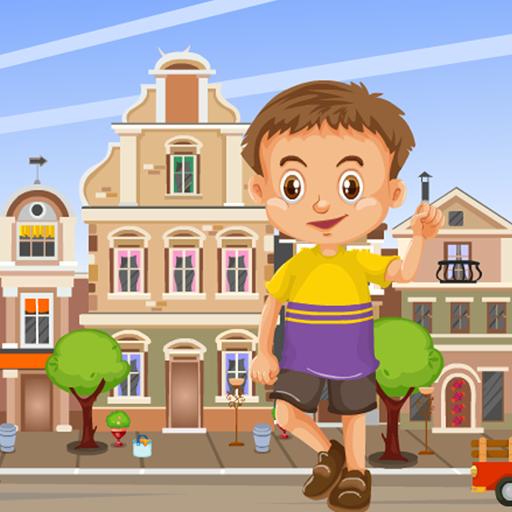 City Boy Rescue Kavi Escape Game - 300