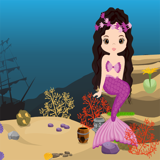 Mermaid Girl Rescue Best Escape Game-299
