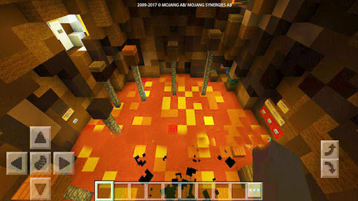 Volcano RUN parkour Map for MCPE Craft - 猫爪推荐好游戏