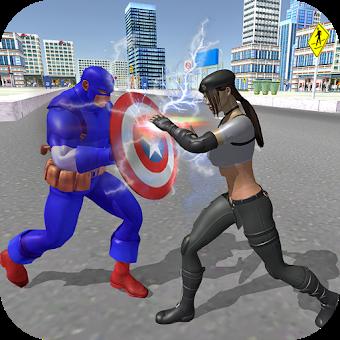 Amazing Captain Hero Fighting Fun ️