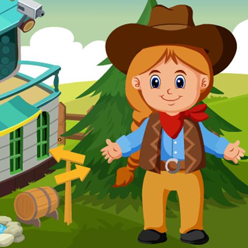 Cute Little Cowgirl Kavi Escape Game-334
