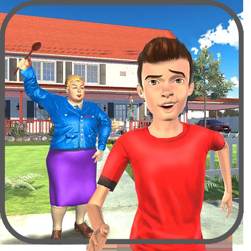 虚拟邻居高中恶霸男孩家庭游戏