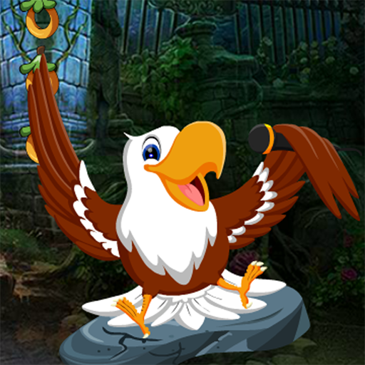 Cute Eagle Rescue Best Escape Game-344