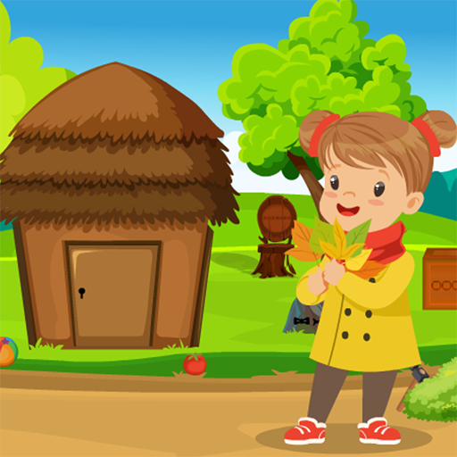 Funny Little Girl Rescue Kavi Game-345