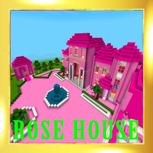 Pink princess house 2018 map for MCPE!