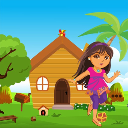 Happy Girl Rescue Kavi Game-367