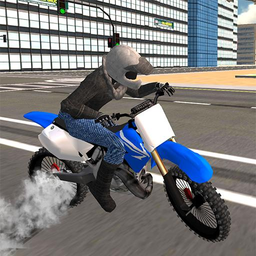 Offroad Bike Driving Simulator
