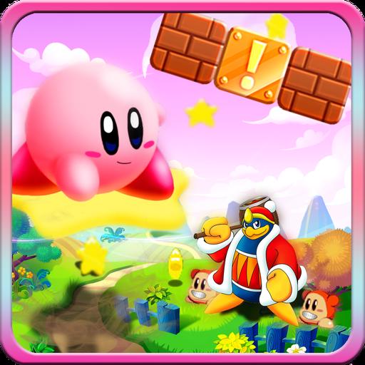 Kirby escape adventure: Run into magic kingdom