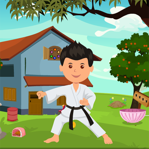 Karate Man Rescue Kavi Game-377