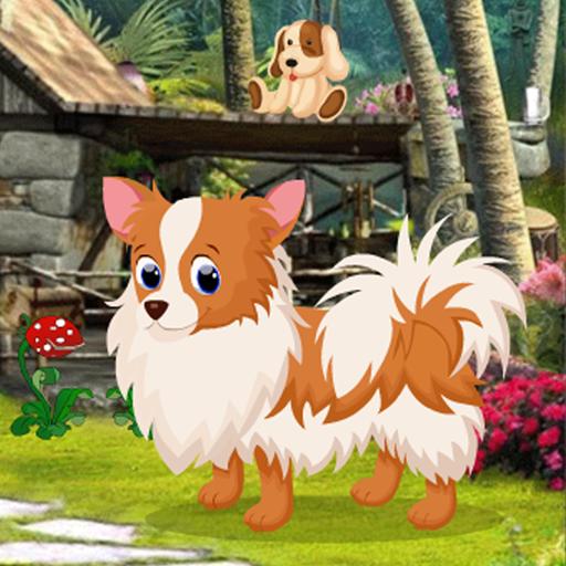 Cute Puppy Rescue Best Escape Game-377