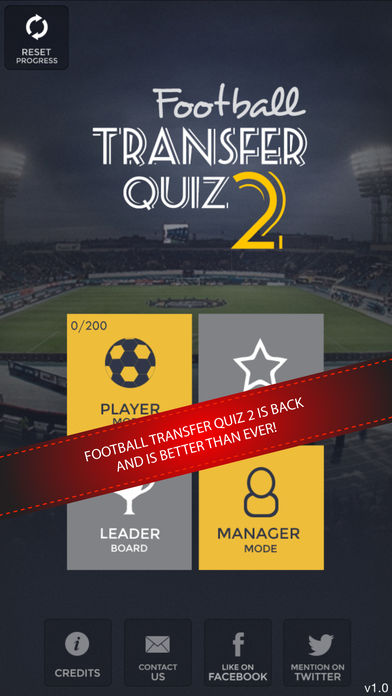 Football Transfer Quiz 2