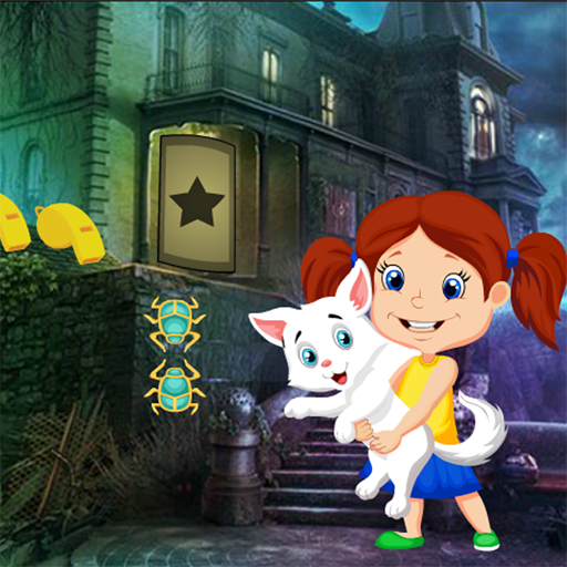 Cute Little Girl And Pet Best Escape Game-380