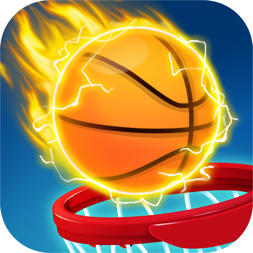 Dunk match: basketball Shot