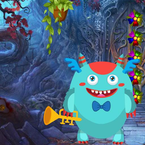 Musician Monster Rescue Best Escape Game-379