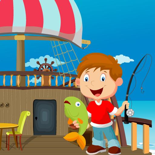Little Fisherman Rescue Kavi Game-383