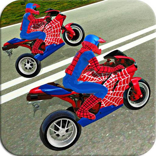 Bike Stunt Super Hero Simulator Driver 3D