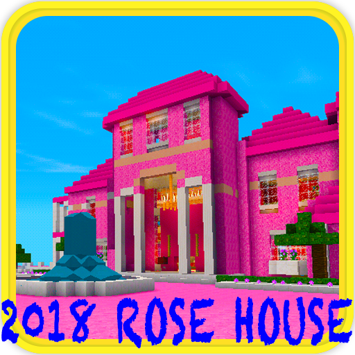 The Great Pink House map for MCPE - 猫爪推荐好游戏
