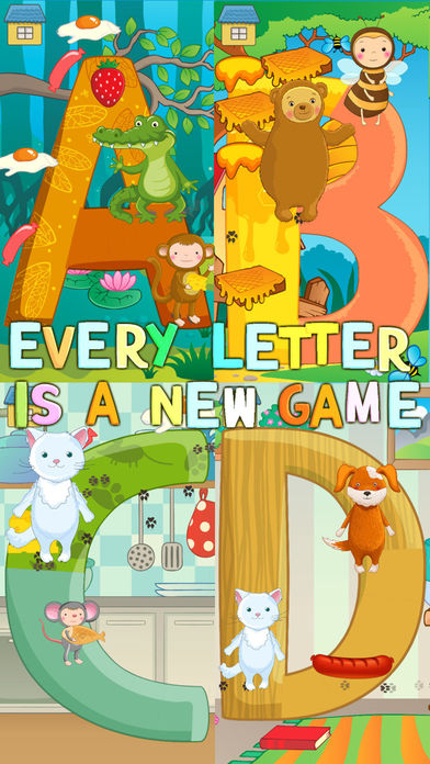 """英语""""吃字母""""字母表!"""