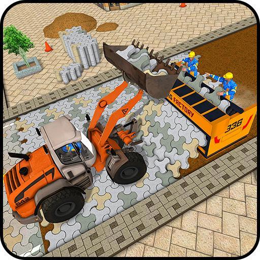 砖 路 施工 & 建设者