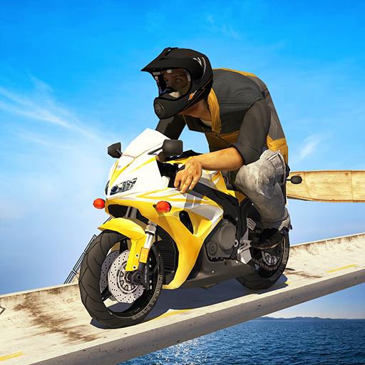 Motorbike Mega Ramp Stunts