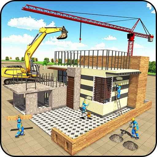 现代 屋 施工 3D