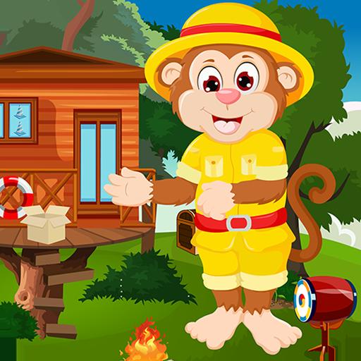 Kavi Games -  411 Simian Monkey Escape Game