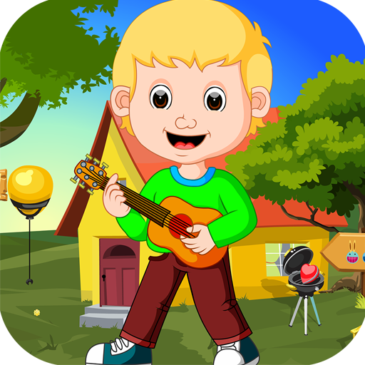 Kavi Games 418- Guitar Laddie Rescue Game