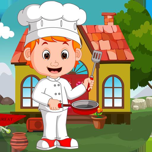 Kavi Escape Game - 422  Chef Boy Rescue Game