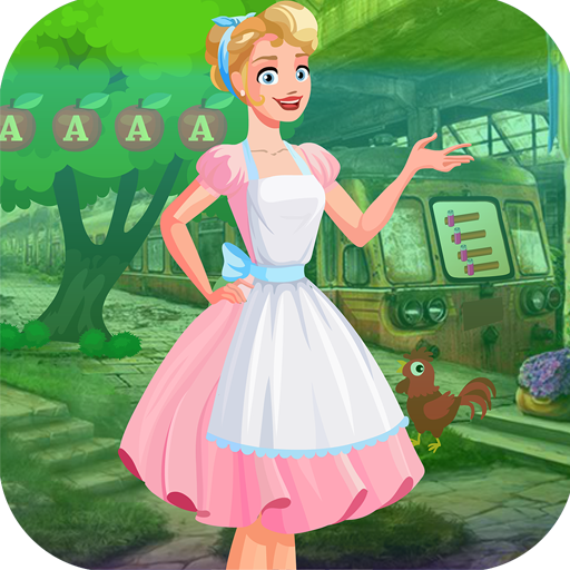Best Escape 438 Beautiful Housewife Rescue Game