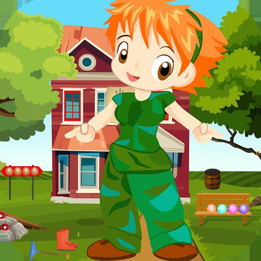 Kavi Escape Game 460 Lassie Anime Girl Rescue Game