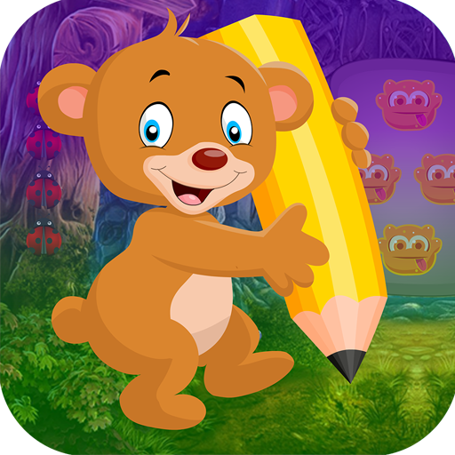 Best Escape Game 486 Writing Bear Rescue Game