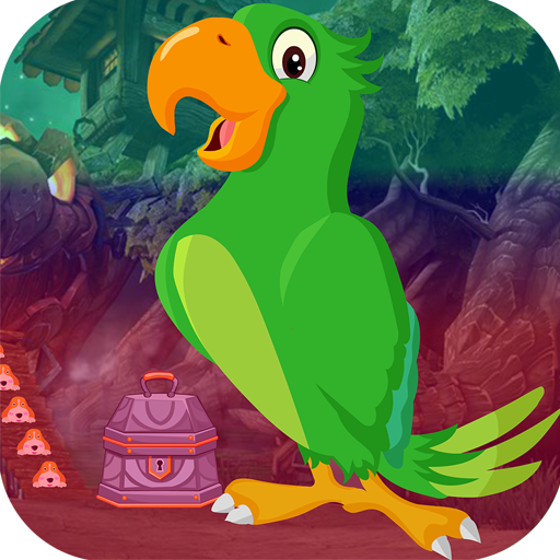 Kavi Escape Game 463 Speaking Parrot Escape Game