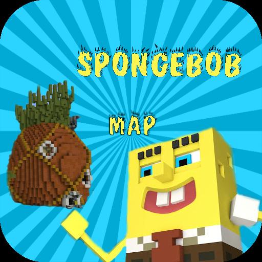 Map Spongebob for mcpe