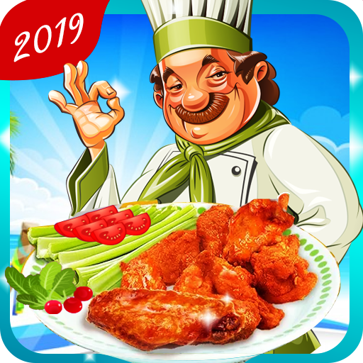 Cooking Chicken Wings- Cooking Diary- Star Chef