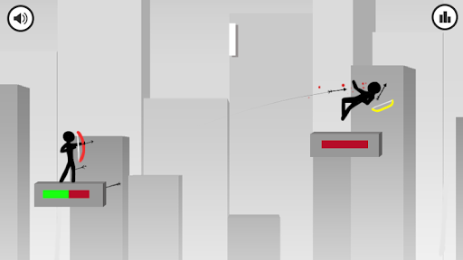 Stickman Archer: Bow and Row