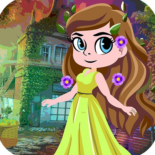 Kavi Escape Game 498 Paradise Angel Escape Game