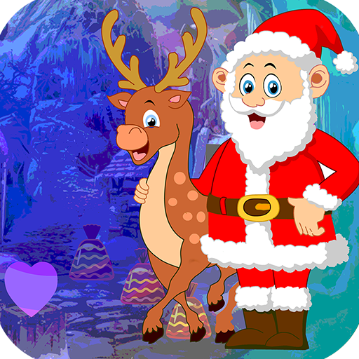 Best Escape Game 536 Santa With Deer Escape Game