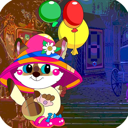 Kavi Escape Game 509 Escape Cat With Balloon Game
