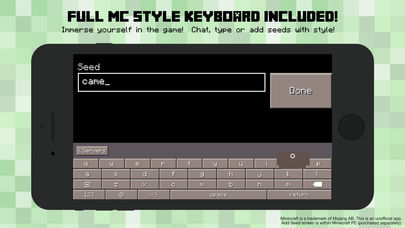 PE Servers - Custom Keyboard for Minecraft Pocket Edition