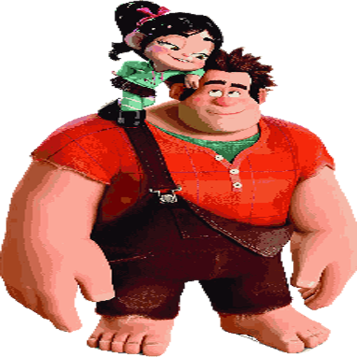 Wreck it Ralph 2 - Color by number