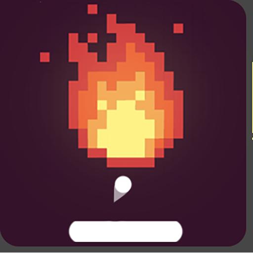 红色球断路器: 打破砖和像素拍摄游戏