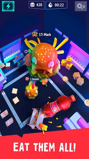 Burger.io: Swallow & Devour Burgers in IO Game